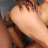 huge titted mature Friday gets shared by two hung blacks from Blacks on Cougars
